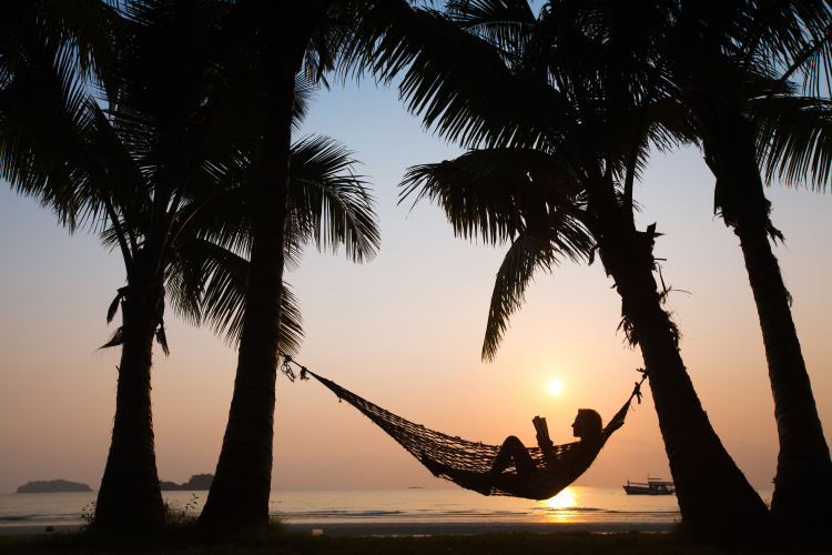 hammock picture march newsletter